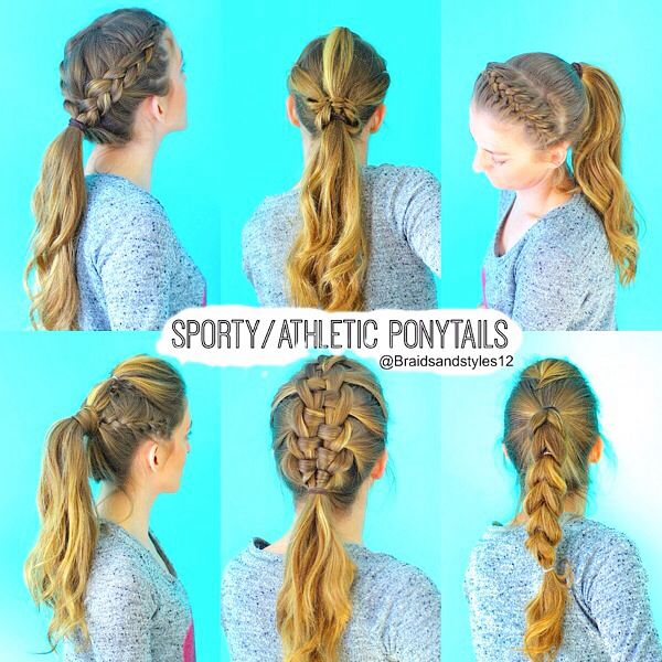 Sporty Ponytail Hairstyles By Braidsandstyles 12  Tutorial : https://www.youtube.com/channel/UC8ouEGIBm1GNFabA_eoFbOQ