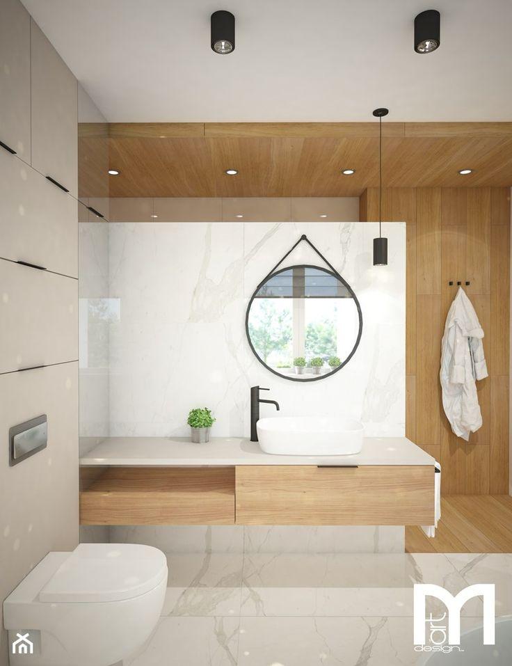 Łazienka styl Skandynawski - zdjęcie od Mart-Design Architektura Wnętrz - Łazienka - Styl Skandynawski - Mart-Design Architektura Wnętrz