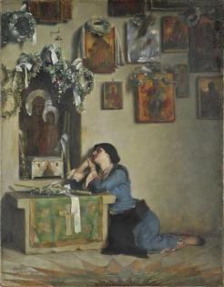 Θεόδωρος Ράλλης-Ικεσία 1905/1909 Εθνική Πινακοθήκη