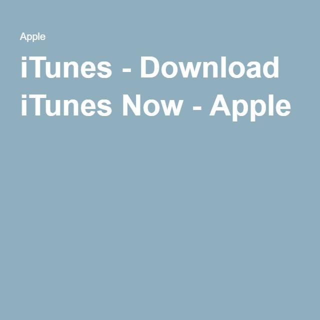 iTunes - Download iTunes Now - Apple