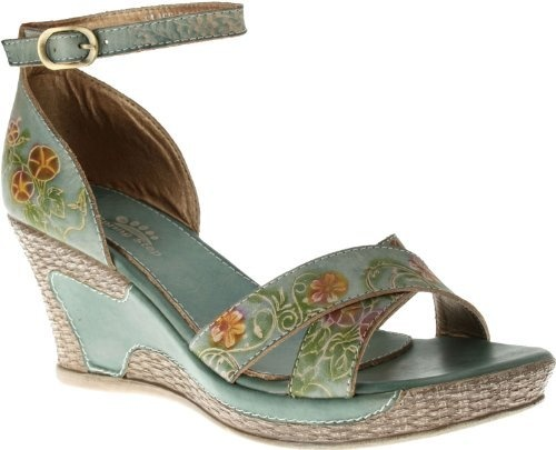 Spring Step Tribute Leather Sandal Gray Womens Shoes All Sizes