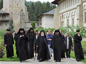 Monks in Putna