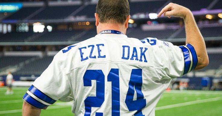 Report: Cowboys jersey sales already surpass last season as Ezekiel Elliott Dak Prescott surge in popularity