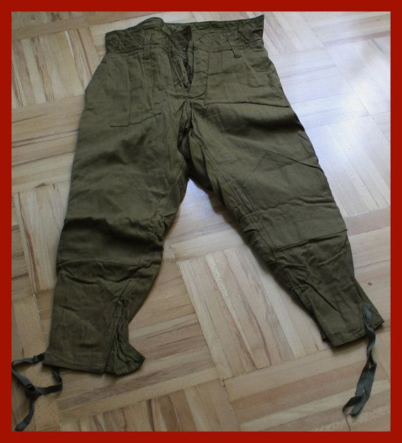 SOVIET ERA (1970s)  NEW   MILITARY   SOVIET ARMY   PANTS UNIFORM   size  XL (52-3)    Measurements :  Waist -  92 cm (36.22 inches)   Leg length on the outer seam -  96 cm (37.8 inches)   Leg length inseam -  69 cm (27.17 inches)       Brand new never used | Shop this product here: spreesy.com/ingryda_123/235 | Shop all of our products at http://spreesy.com/ingryda_123    | Pinterest selling powered by Spreesy.com