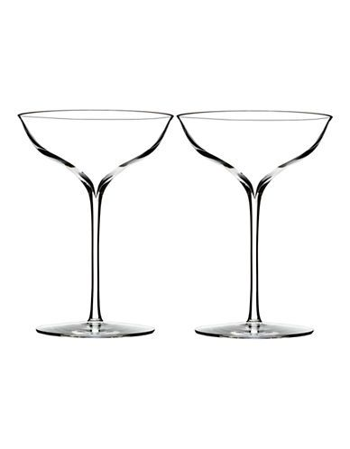 WATERFORD WEDGWOODElegance Champagne Belle Coupe Pair