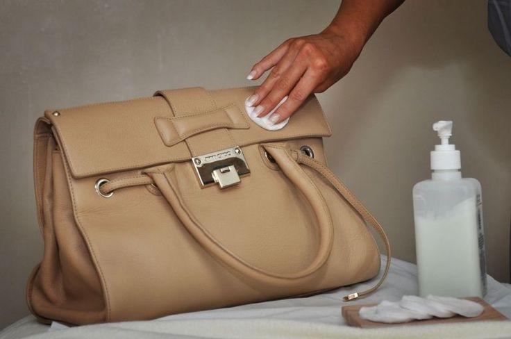 как почистить сумку