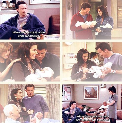 Monica & Chandler <3