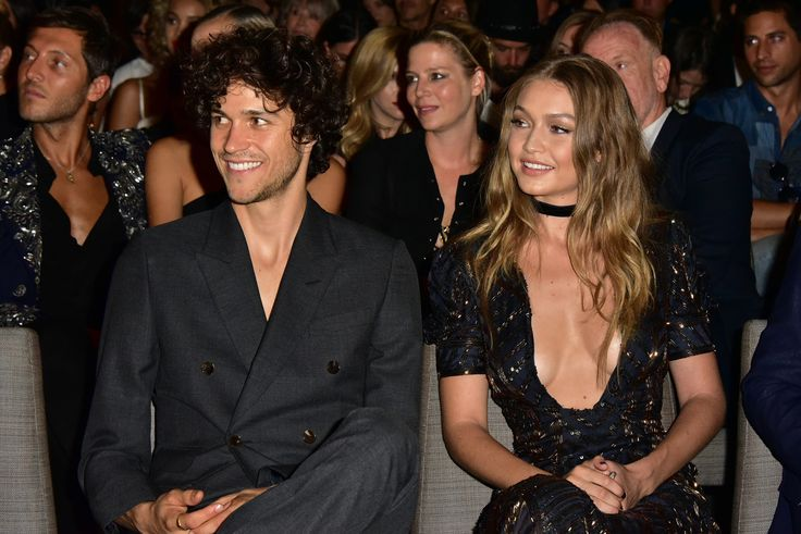 Miles McMillan and Gigi Hadid attend The Daily Front Row's 4th Annual Fashion Media Awards at Park Hyatt New York on September 8, 2016 in New York City.