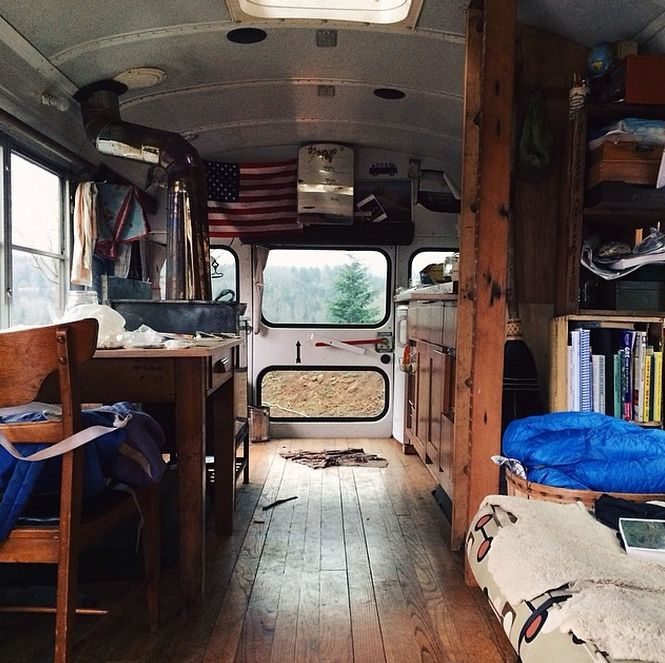 33 Gorgeous Instagram Photos From A Guy Who Ditched Nyc To Live Out Of His Van Bus Conversions Pinterest House Camper And Life