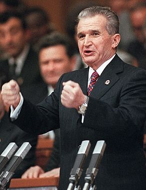 "Nicolae Ceausescu was the General Secretary of the Romanian Communist Party from 1965-1989. He made a scepter for himself (Isn't Communism Anti-Monarchy?), and called himself ""The Genius Of The Carpathians"". He obviously wasn't a fan of modesty. He demanded that his, nearly illiterate, wife be made part of the New York Academy of Sciences and the Royal Institute of Chemistry He met his end when he and his wife were overthrown and executed by revolutionaries."