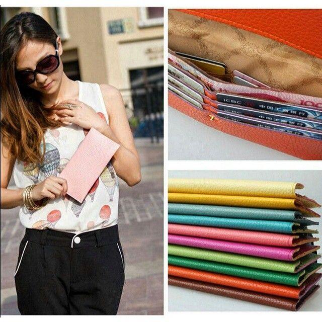 Σικάτο και Βολικό  Μ Ο Ν Ο  6, 0 0 €  Πορτοφόλι σε Φωτεινά Χρώματα!  Αρχική Τιμή: 8,90 € * Chic Clutch Wallet  MAKE IT YOURS ONLY for 6,00 €  #πορτοφόλι #στυλ #μόδα #γυναίκα #wallet #cards #fashion #design #woman #gift #buy