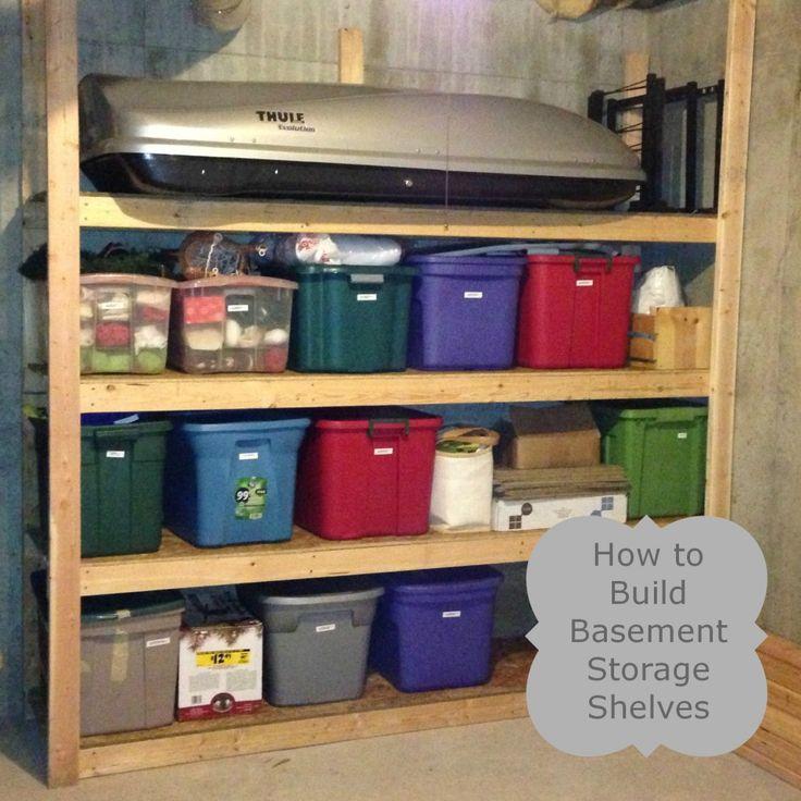 25 best images about basement storage shelves on pinterest basement shelving storage shelves. Black Bedroom Furniture Sets. Home Design Ideas