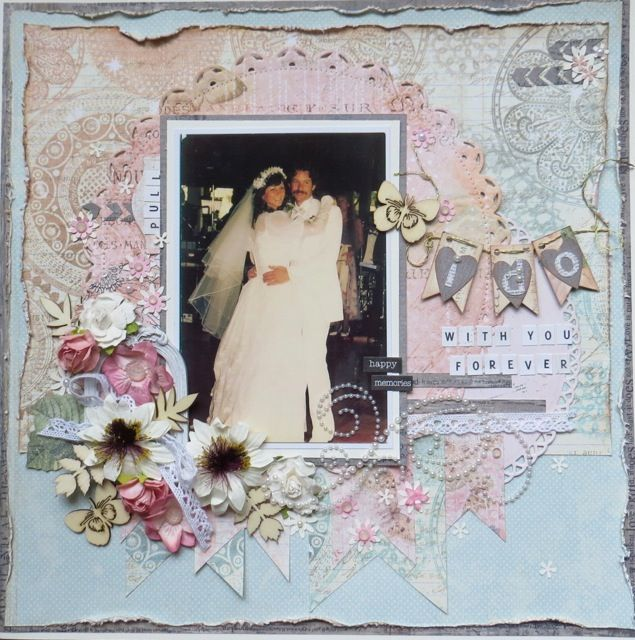 261 best Wedding Scrapbooking Layouts images on Pinterest ...