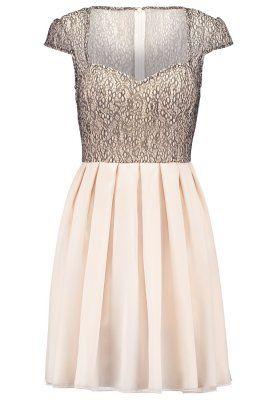 Sukienka koktajlowa - bronze / white