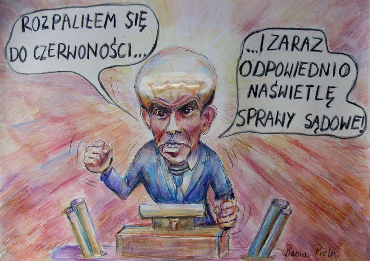 [Kliknij aby zobaczyć całość] Nowy rysunek Barbary Pieli: Borys Budka | Tysol.pl