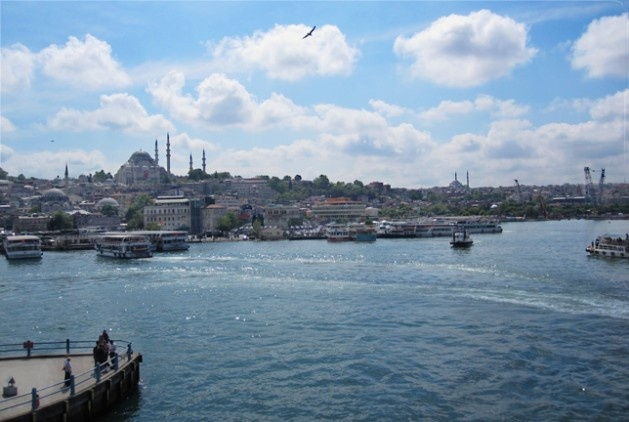 We snapped this photo on our first day in Istanbul during a cruise down the Bosphorus.: Travel Photos, Magical Places, Person Someday, Cruise