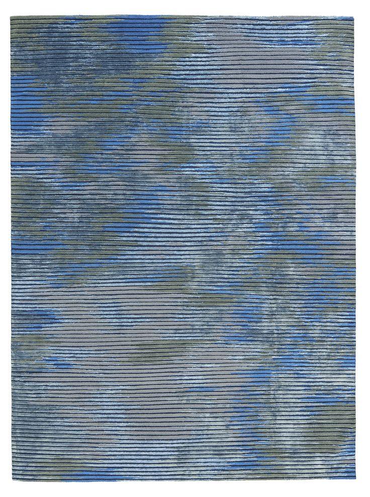 Rhythmic Shadow IV, Scenematic Collection by André Fu #AndreFu #AndreFuLiving #AFL #Architect #Lifestyle #Texture #Modern #City #Lines #Blue #Luxury #UrbanNightfall #Rug #Carpet #Tapis #Design #InteriorDesign #Art #Deco #Bespoke #Custom #Unique #HandKnot #HandMade #Artisans #RugsCreatedByUs #TaiPing #HouseOfTaiPing