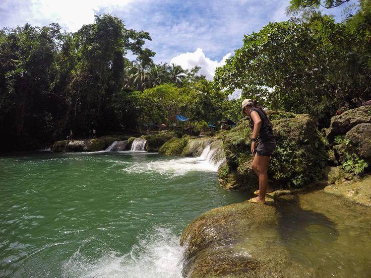 dare to jump!!! #waterfalls #tumpagfalls #leyte #nature