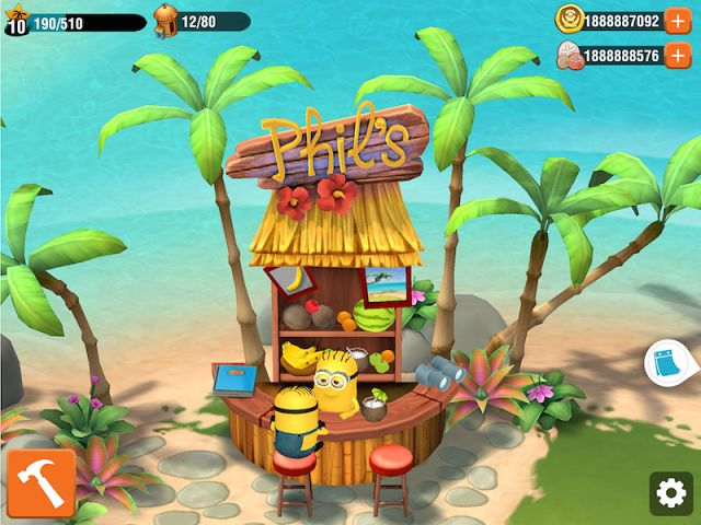 Hack Minions Paradise 2.0.1273 Unlimited Doubloons Unlimited Sand Dollars