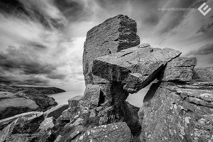 Valley of Rocks, England 2015. // #england #travel #reise #photography #editorial #fotografie #rocks #felsen #valleyofrocks #valley #of #rocks #lynton #lynmouth #devon #england #exmoor #nationalpark #sky #clouds #himmel #wolken