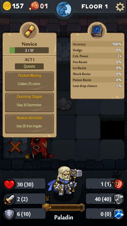 """Dungelot: Shattered Lands"" Character Profile"
