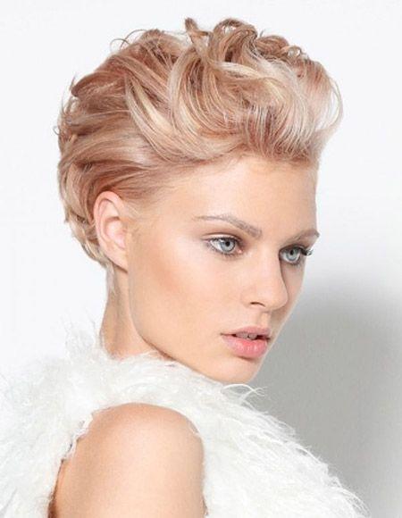 Miraculous 1000 Ideas About Short Wedding Hairstyles On Pinterest Short Short Hairstyles Gunalazisus