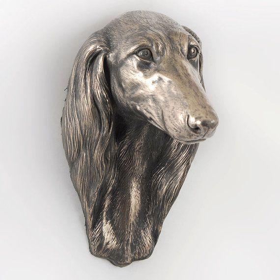 Saluki dog hanging statue limited edition by ArtDogshopcenter