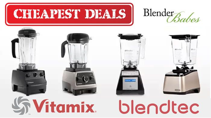 How to SAVE BIG! Cheapest Deals Refurbished Blendtec vs Vitamix by @BlenderBabes