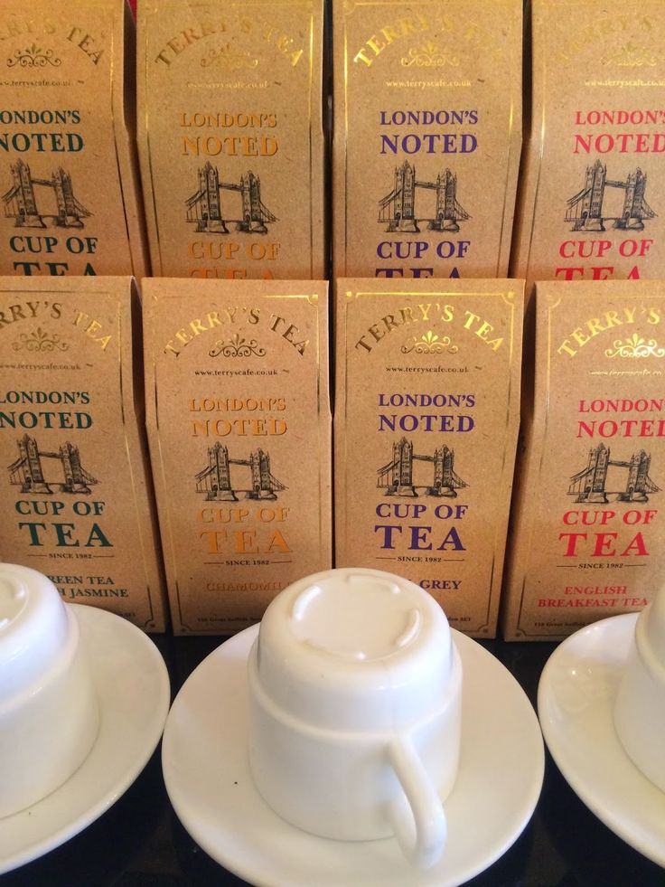 Terry's Tea, London's noted cup of tea since1982