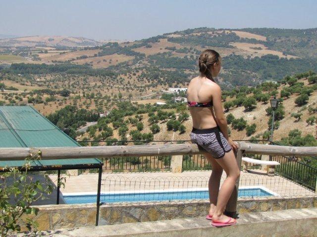 Uitzicht over el Bosque - Spanje