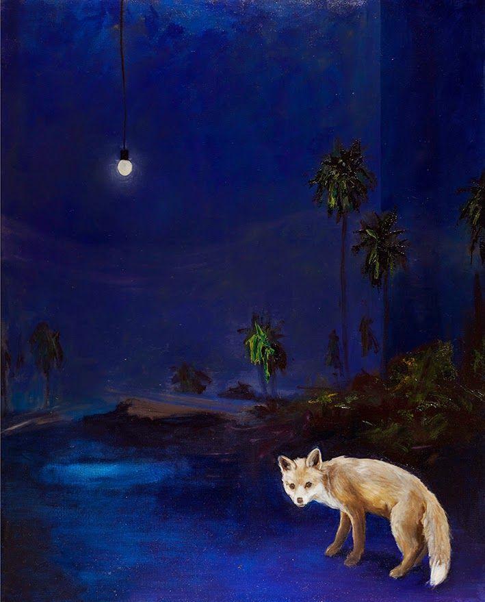 Mari Jäälinoja, Wanderer, 2014, oil on canvas, 150x120cm
