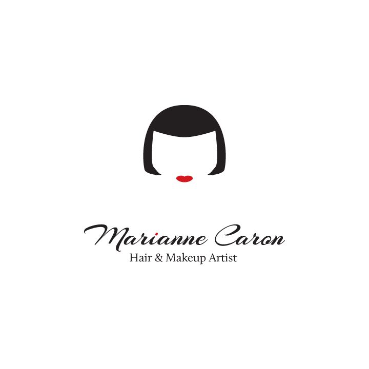 Marianne Caron is a makeup artist from Montreal that looks just like her logo (but even better!) ;)
