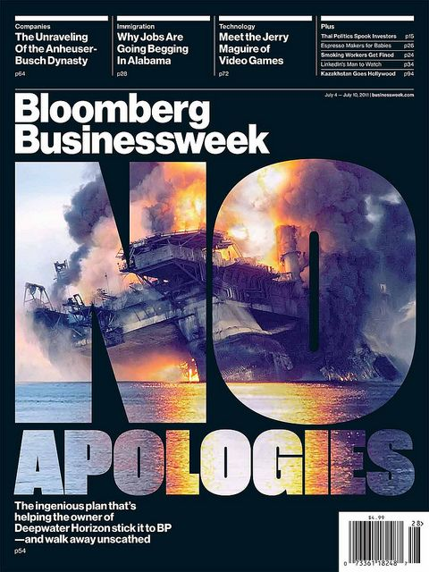 Bloomberg Businessweek... picture in type.