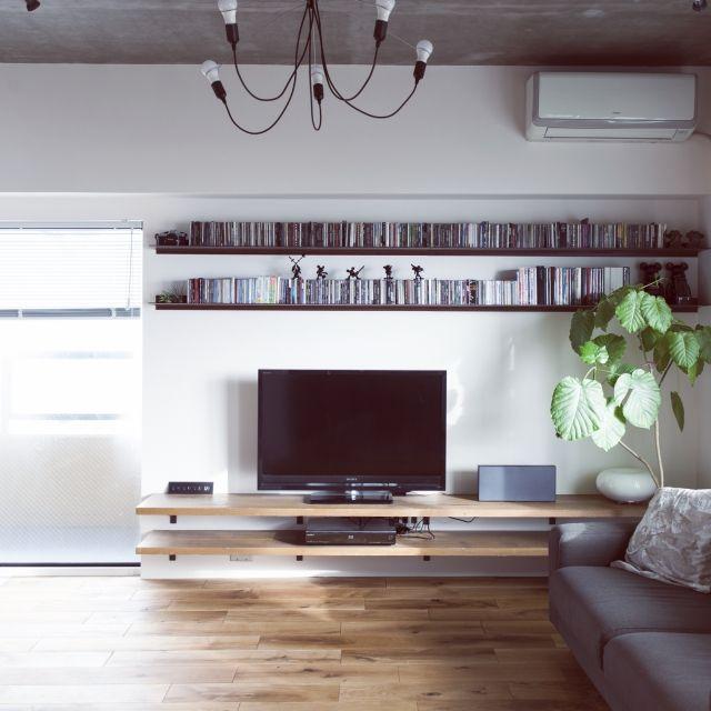 棚/ホームシアターのインテリア実例 - 2015-08-04 20:31:54 | RoomClip(ルームクリップ)