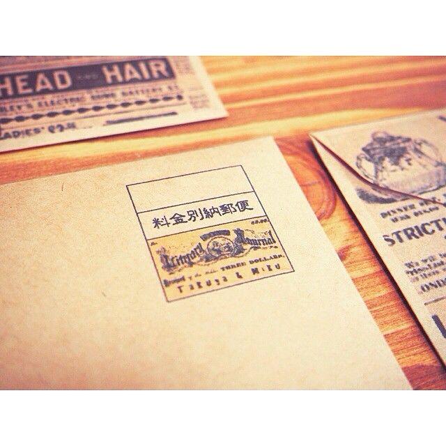 切手の代わりの料金別納郵便スタンプがオリジナルデザインOKって知ってた? | marry[マリー]