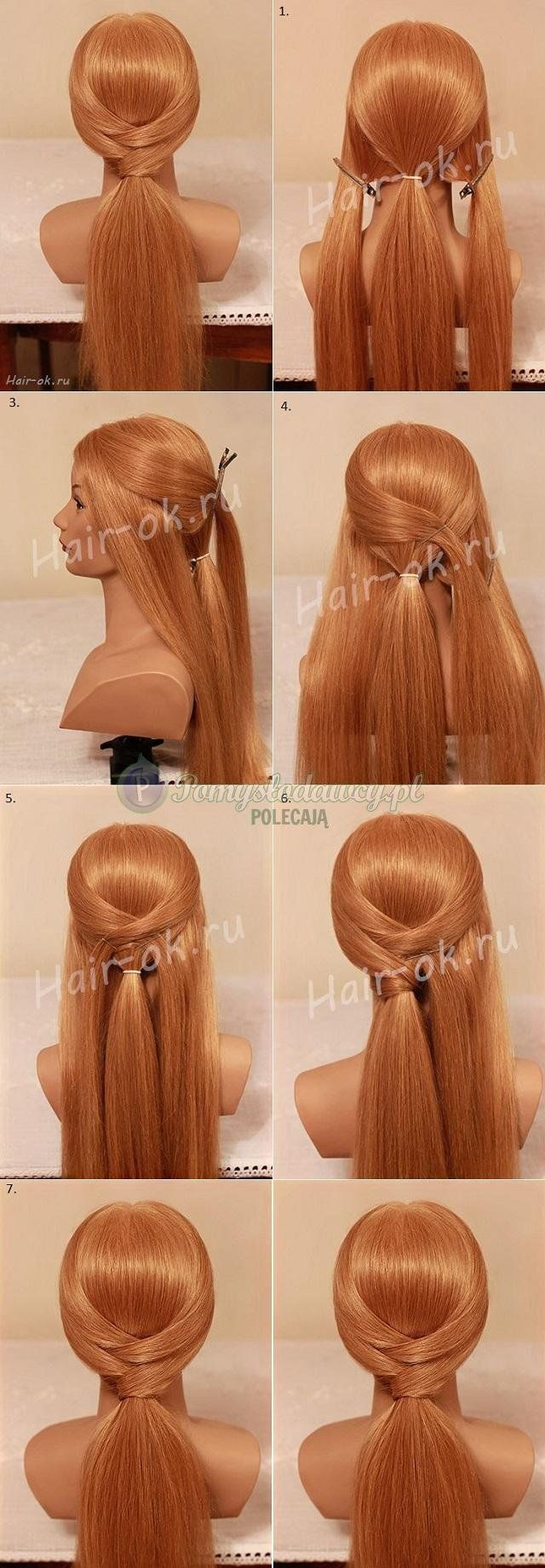 Quick Cute Ponytail Hairstyles 25 Best Ideas About Low Ponytails On Pinterest Messy Low