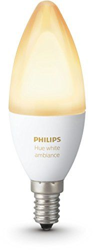 Philips Hue White Ambiance Personal Wireless Lighting Led E14 Edison Screw Bulb Works With Alexa [energy Class A]
