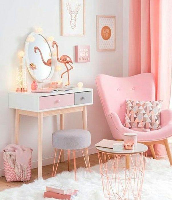 32 best Decoração feminina images on Pinterest   Pink decorations ...