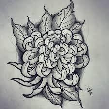 Resultado de imagen de crisantemo tattoo