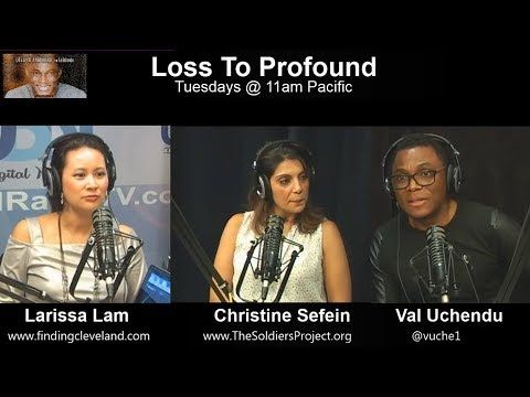 """Hoping you'll love this... """"Loss is NOT a Taboo Word"""" - Episode 4 on Loss To Profound with Val Uchendu -Memorial day https://youtube.com/watch?v=WsnMW4KjD3Q"""