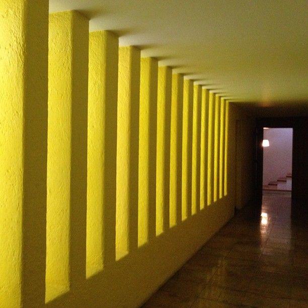 Pasillo Amarillo; Casa Gilardi | Luis Barragán