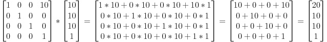 Matrices and View Projection