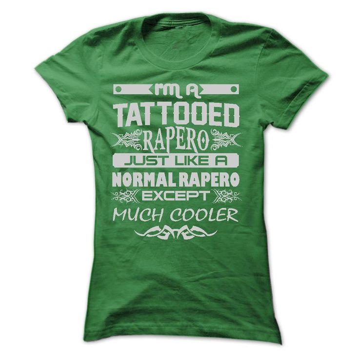 TATTOOED Rapero - AMAZING T SHIRTS