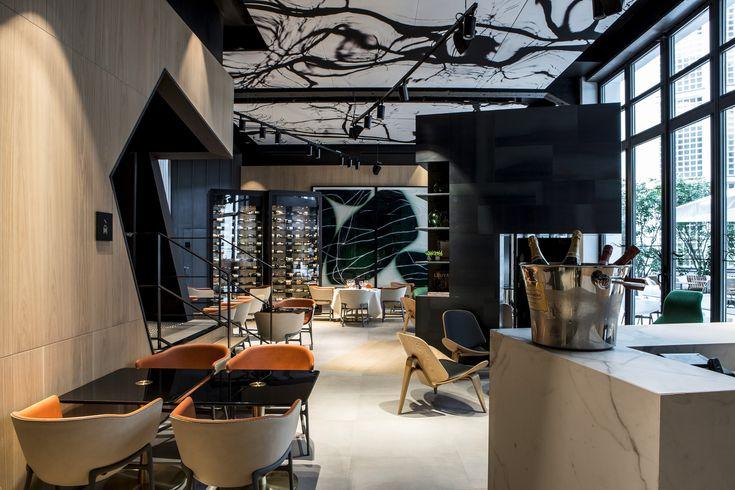 Hotel interior design |  Le 5 Codet | Paris | France
