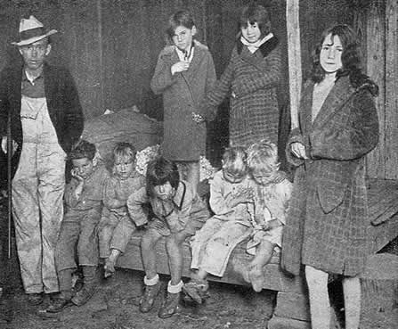 the great depression | Many children were deserted and left homeless during the Depression