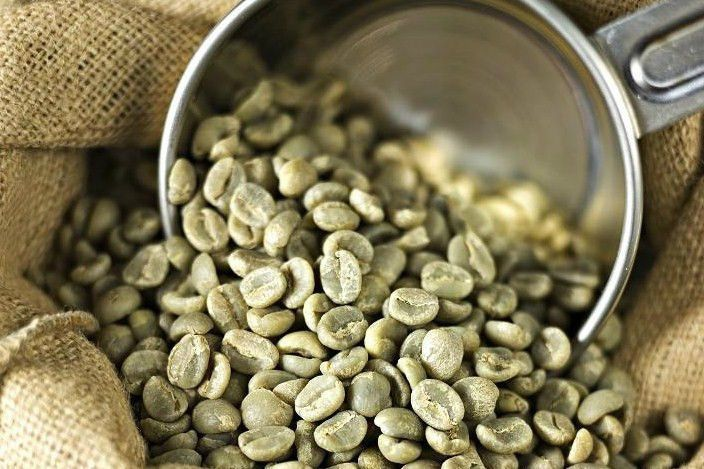 Unroasted coffee beans are great for lowering blood pressure due to its high levels of cholorogenic acid.