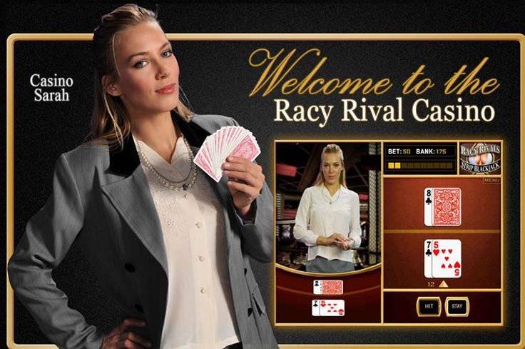 http://www.RacyRivals.com        Racy Rivals Automated Strip Blackjack Game    		              RacyRivals presents the best sexy games for men -challenging games such as strip poker, strip blackjack, and sexy puzzles, and always pretty girls to undress.