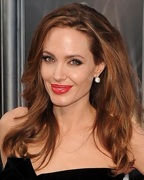 perfect Light medium brown hair, Angelina jolie photos