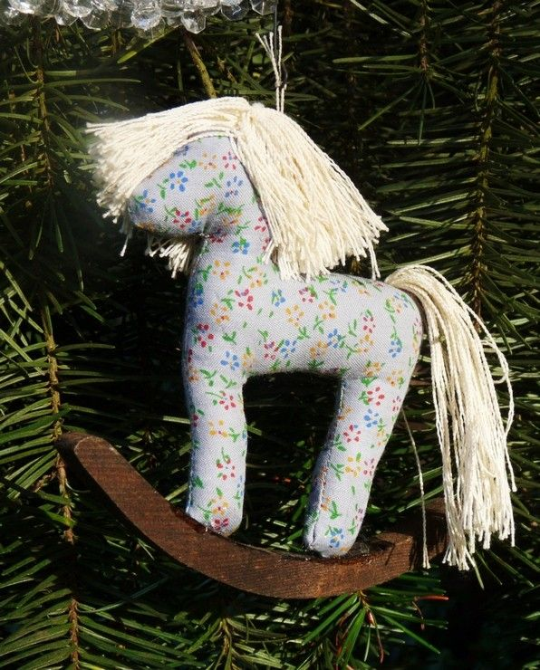 Christmas Tree Ornaments Horse: 17 Best Images About Rocking Horse Christmas Ornaments On