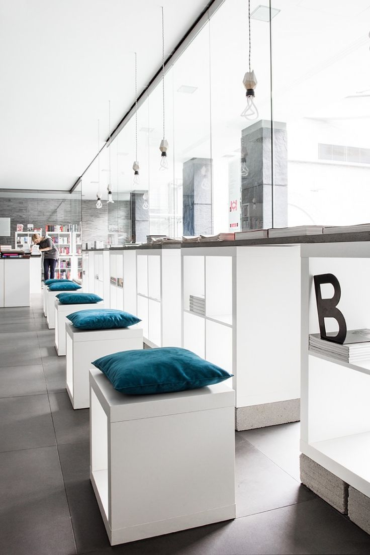 194 best architecture floors images on pinterest architecture kasia orwat home design took on the challenge of redesigning the interior of a bookstore in just three weeks they commissioned the designer marcin